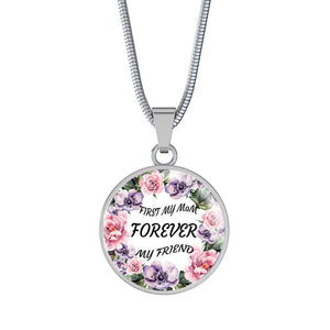 Flower Mom Necklace