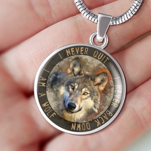 wolf necklace algarve online shop