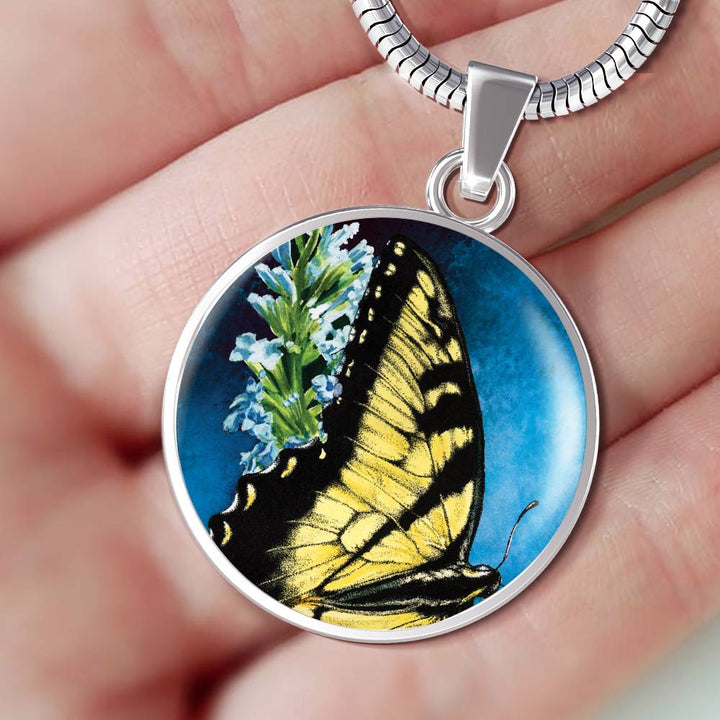 butterfly necklace algarve online shop