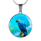 parrot necklace algarve online shop