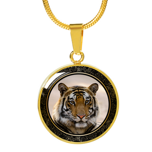 tiger necklace gold