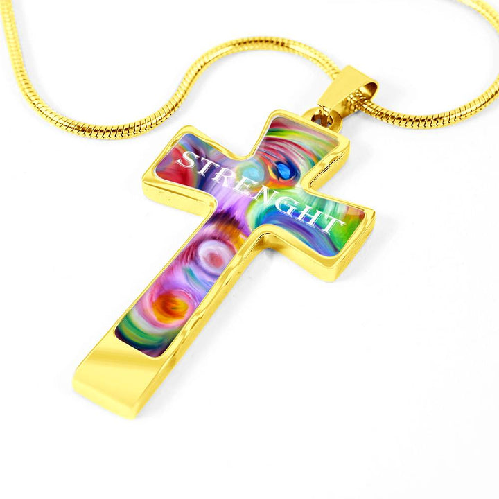 Cross Necklace Strenght