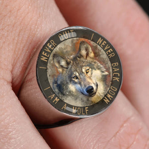 Wolf Ring I Am a Wolf