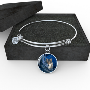 Wolf bracelet bangle algarve onlineshop
