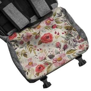 Floral Personalized Backpack