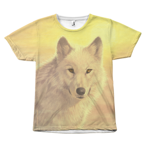 Wolf T-Shirt JohNaito-Holy