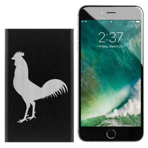 Power Bank Portable Phone Charger. Rooster