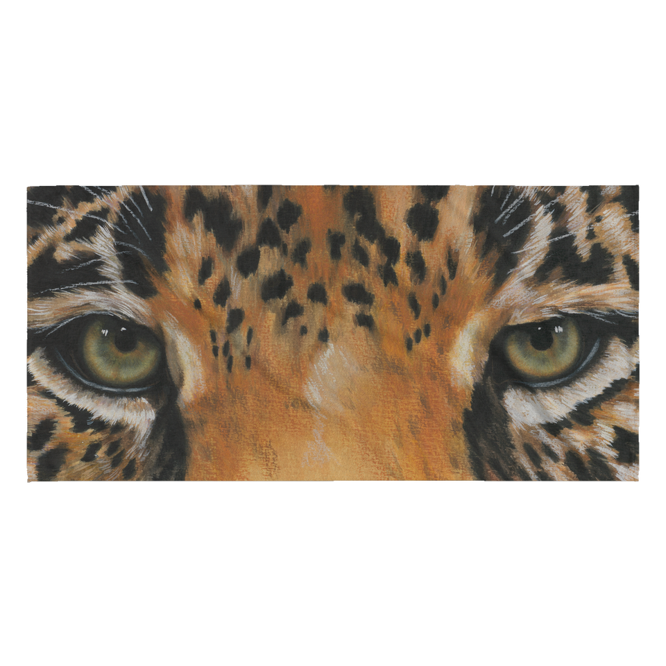Leopard Eye Beach Towel