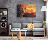 Canvas Wall Art Wolf - Algarve online shop