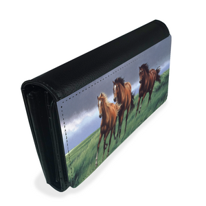 Horses Ladies Wallet