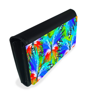 Abstract Butterfly Ladies Wallet