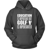 golf hoodie  algarve online shop charocal gray