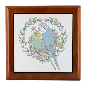 Budgie jewelry box