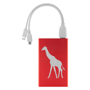 Power Bank with Giraffe