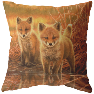 Baby Fox Pillows- Pillow Covers