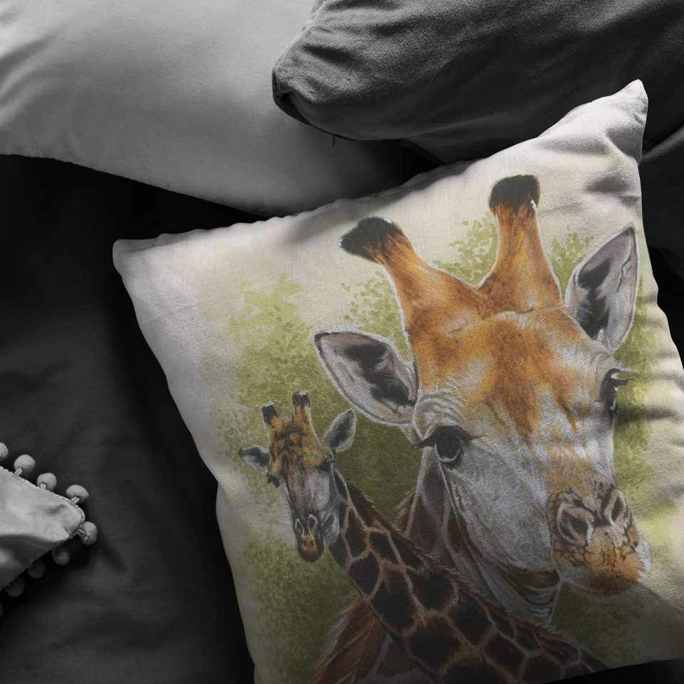 Giraffe Pillow