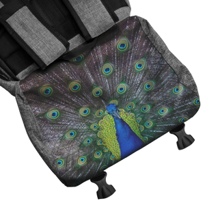 Peacock backpack best for travel, outdoors