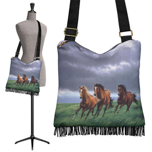 Horses Cross body bag