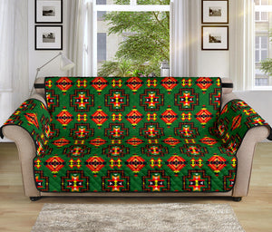 Sofa Protector Pretty Hunter Green