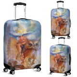 luggage cover owl