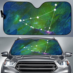 Zodiac Capricorn Car Sun Shade
