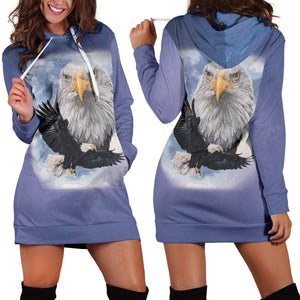 Bald Eagle Hoodie Dress