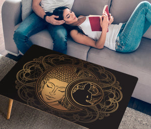 HandCrafted Golden Zen Coffee Table