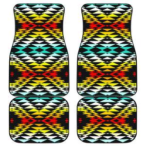 Taos Fire Front And Back Car Mats (Set Of 4)