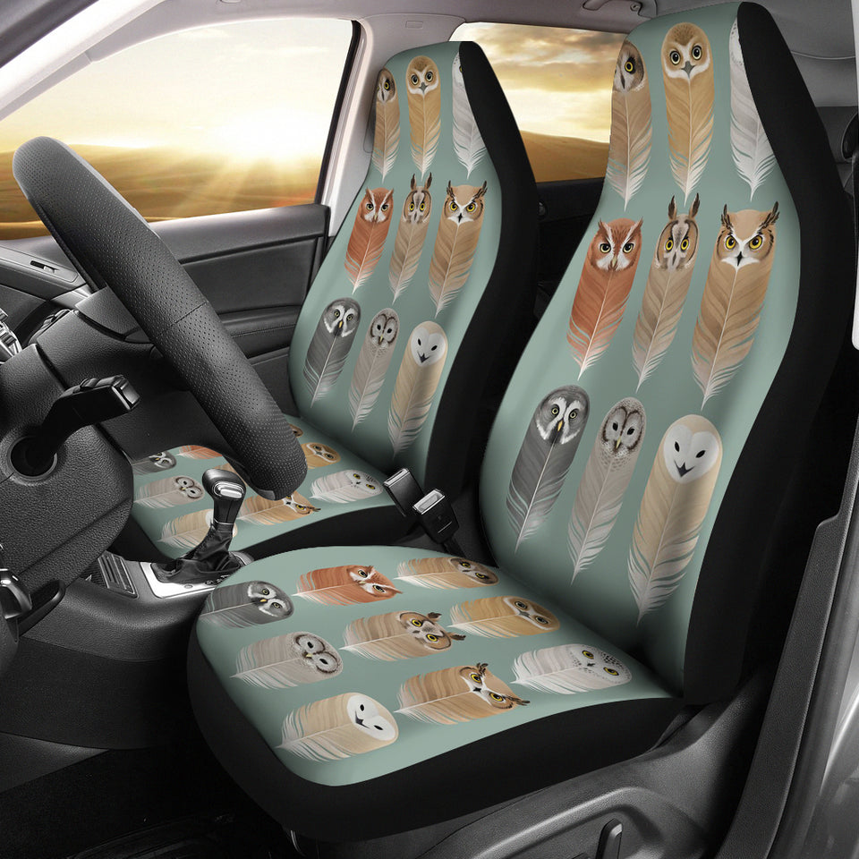 OWL SPIRIT CAR SEAT COVERS