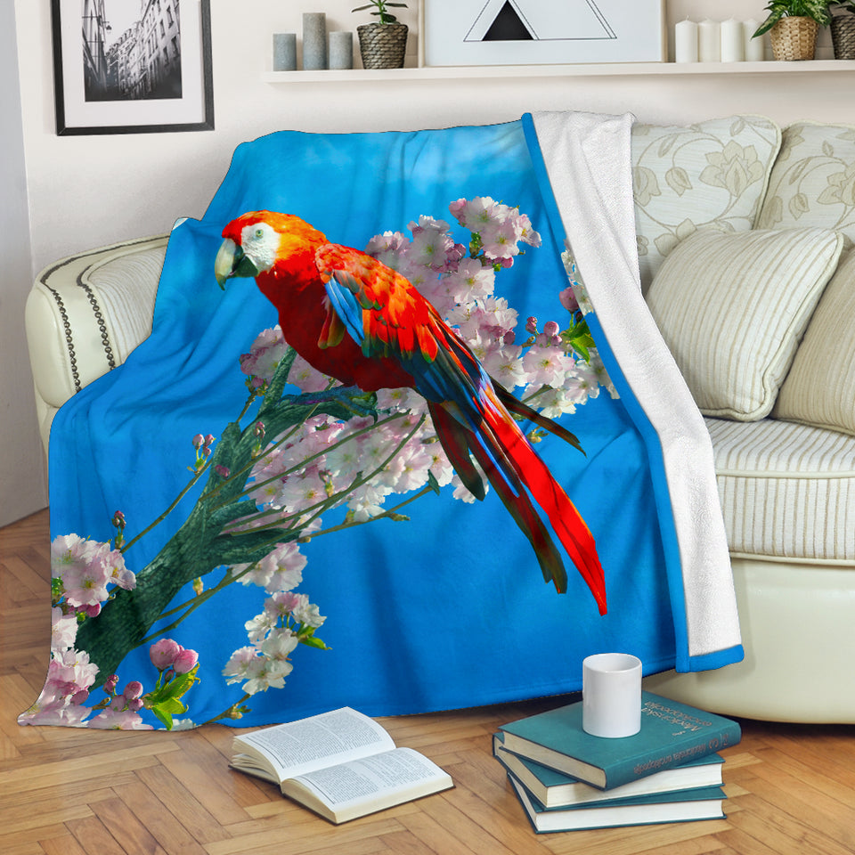 parrot throw blanket algarve online shop