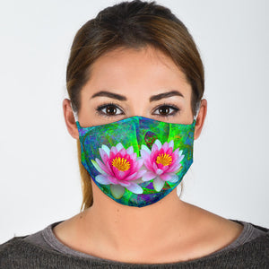 lotus flower cloth mask