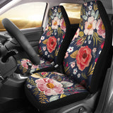 Floral Car Seat Covers- Vintage Flowers