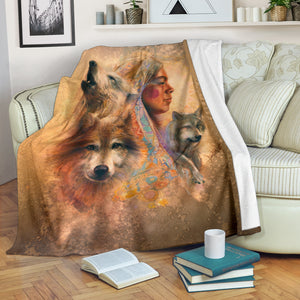 Wolf Blanket American Native