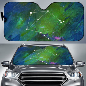 Zodiac Libra Car Sun Shade