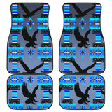 Eagles Midnight Lake Front And Back Car Mats (Set Of 4)