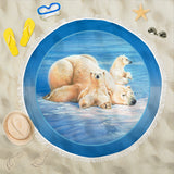pool blanket polar bear