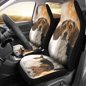 Car Seat Covers - Beagle