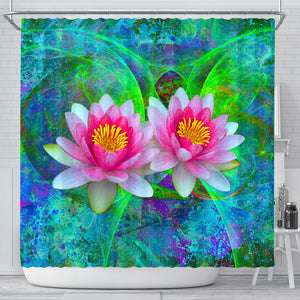 lotus flower shower curtain algarve online shop