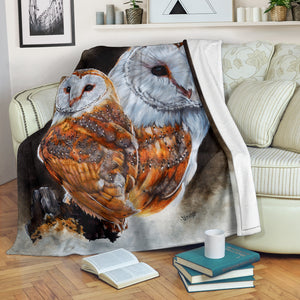 Barn Owl Blanket