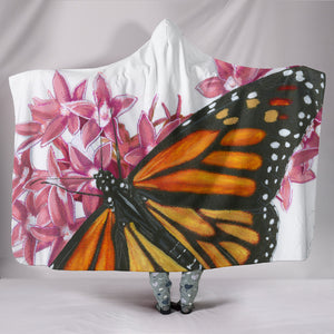 Monarch Hooded Blanket