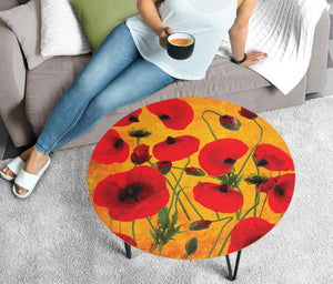 Coffee Table Poppies