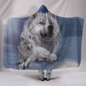 Hooded Blanket Wolf - Noble Intensity