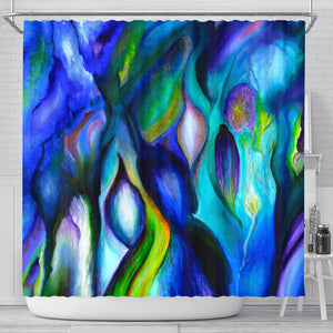 Shower curtain - Abstract Art