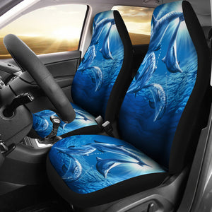 car seat cover dolphins