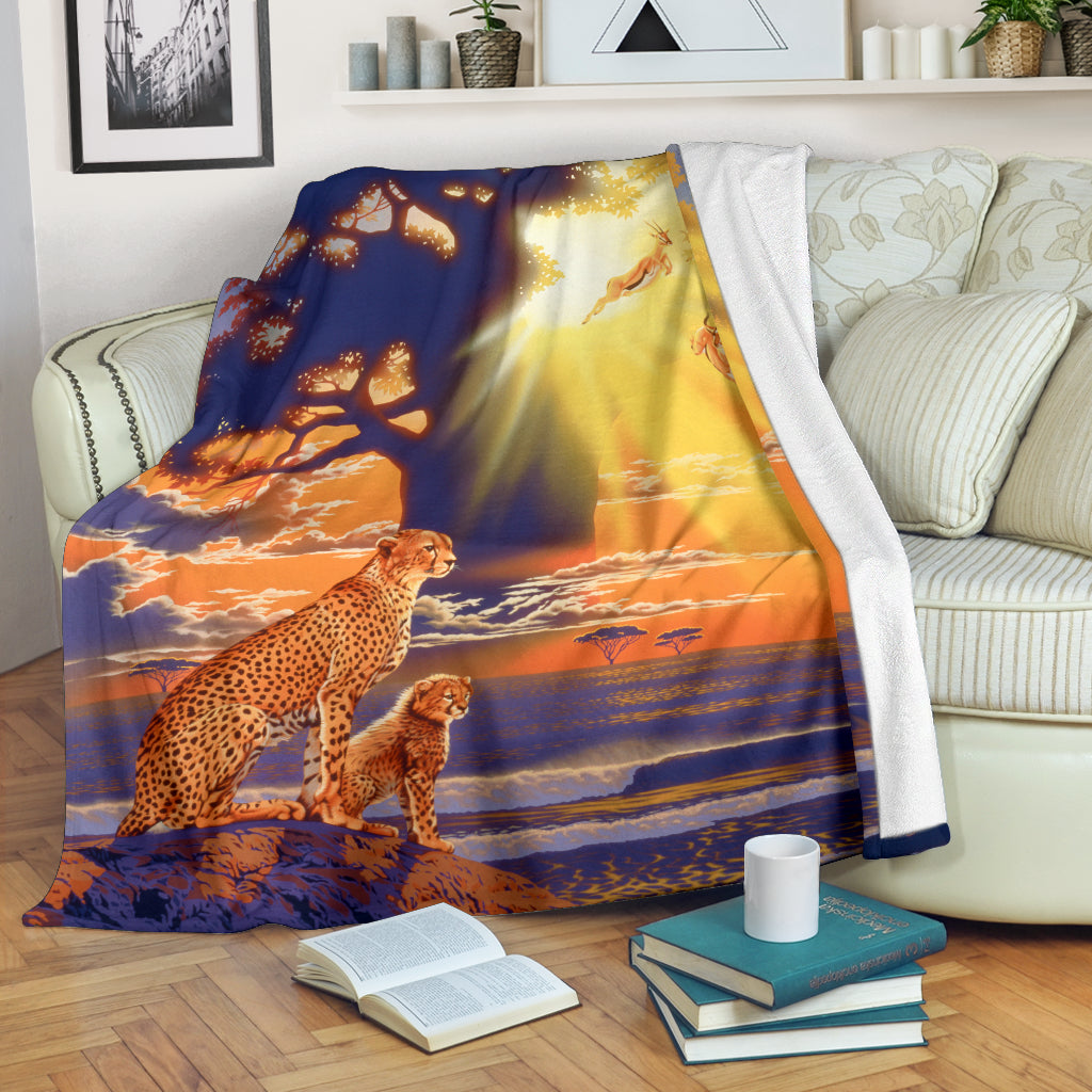 Cheetah blanket algarve online shop
