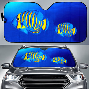 Car Sun Shade Fish