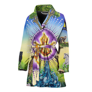 Universe &I - Women's bath Robe