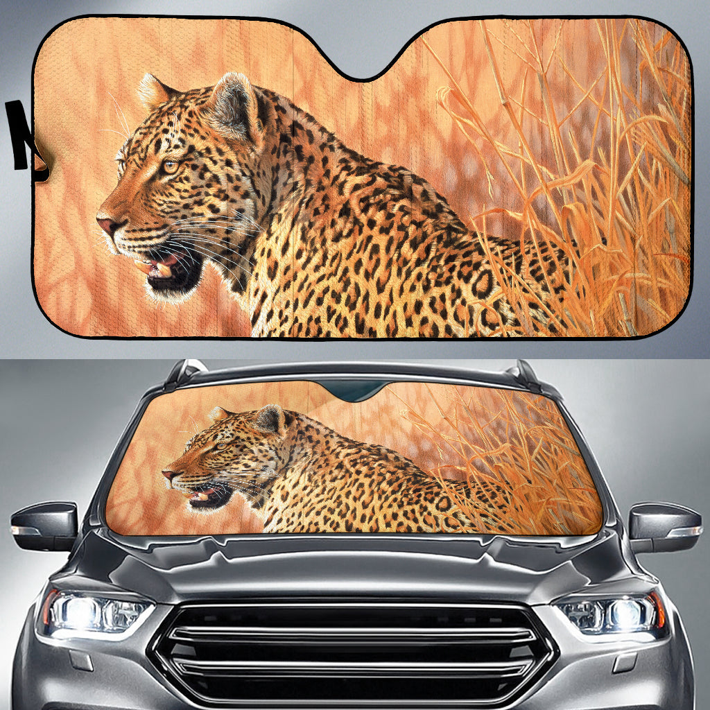 car sun shade with Leopard print  algarve online shop
