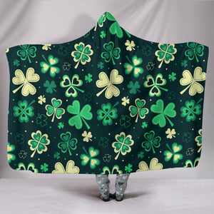 PATRICK IRISH HOODED BLANKET