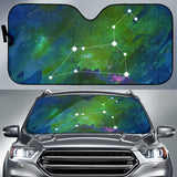 Zodiac Leo Car Sun Shade